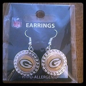 🏈SALE!⬇GREEN BAY PACKERS EARRINGS